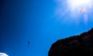 Paraglider, Paragliding, Foto. Sulamith Sallmann