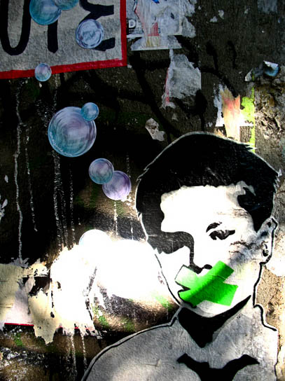 Kind, Streetart, Foto: Sulamith Sallmann